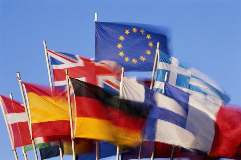 flagi Unia Europejska