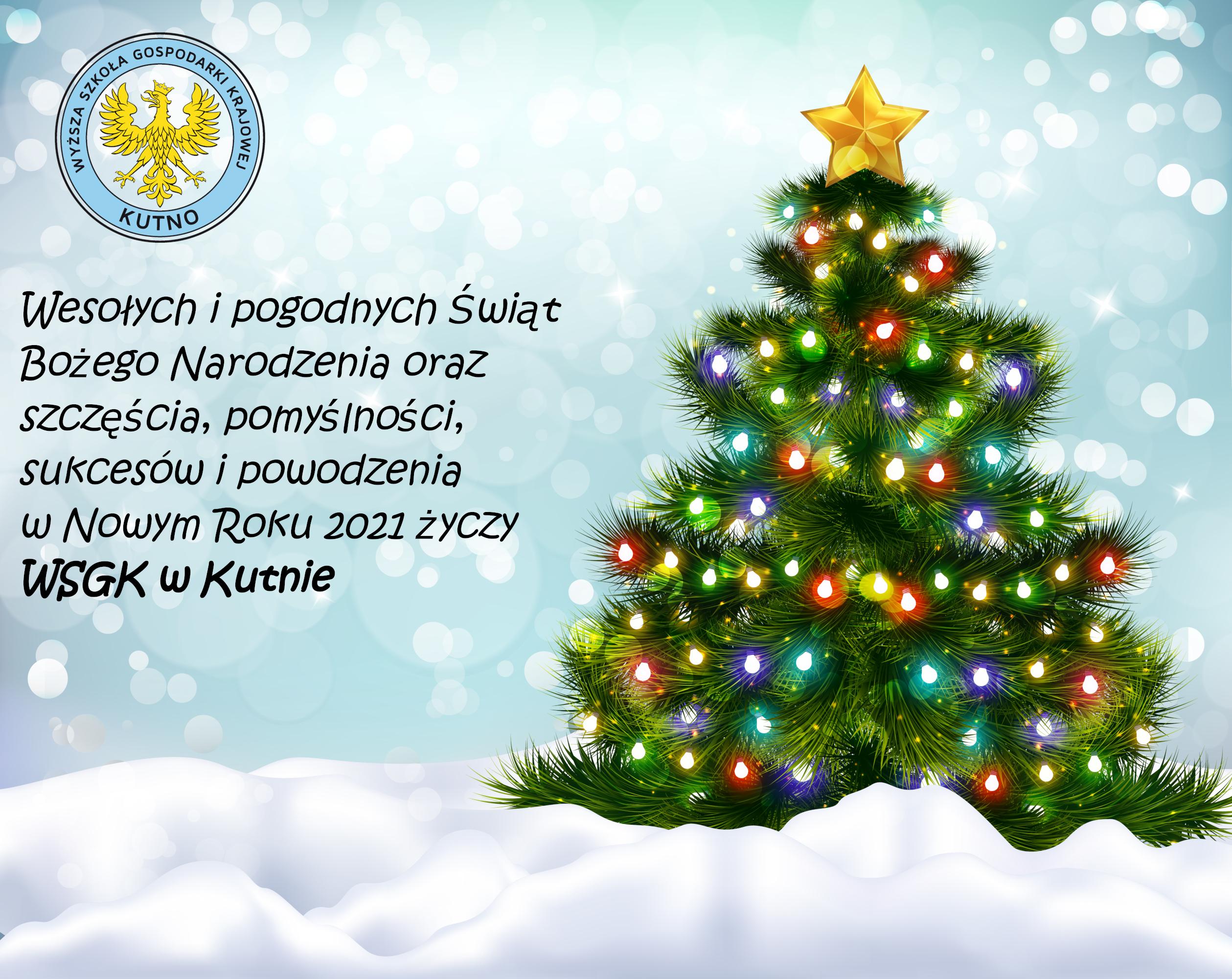 Wesołych Świąt i Szczęśliwego Nowego Roku 2021!